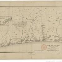 Carte de la côte des Esclaves / dressée par l'abbé J. E. Bouche